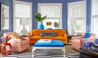 these 6 lessons in color will change the way you decorate one rh onekingslane com living room colors with brown furniture living room colors with grey