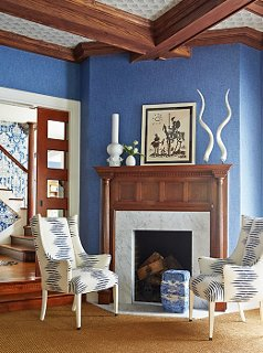 The Homeowner Loves Blue, So That Was The First Color Mele Decided To Focus  On
