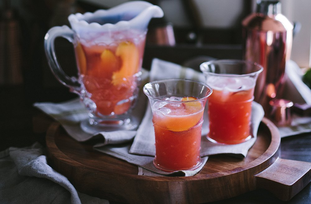 Maximize the Season with a Refreshing Peach Planter's Punch