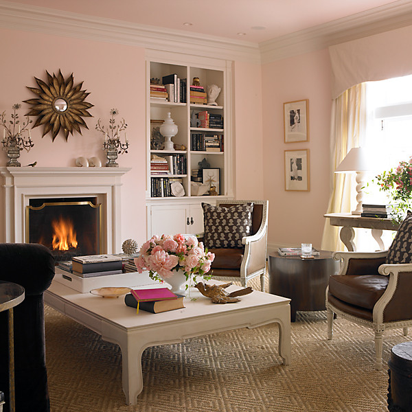 Find the perfect pink paint color Sophisticated paint colors for living room