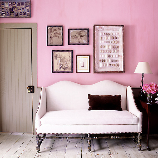 Find the perfect pink paint color design by steven gambrel photo by william waldron aloadofball Gallery