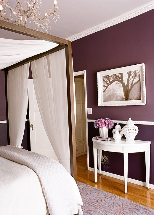 Light Purple And White Rooms