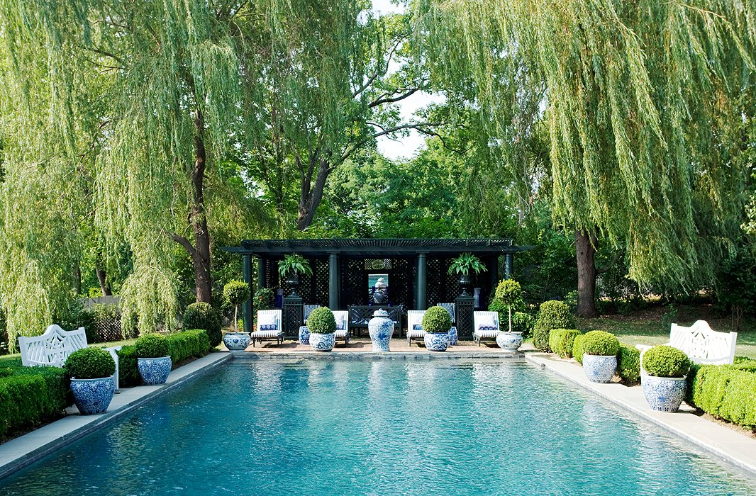 8 exquisite pools chic pool furniture one kings lane for Pool kings design