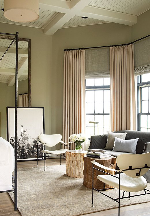 Paint Color Silver Sage From Benjamin Moore Save Photo By Tria Giovan GAP Interiors Interior Kevin Spearman Design Group Inc