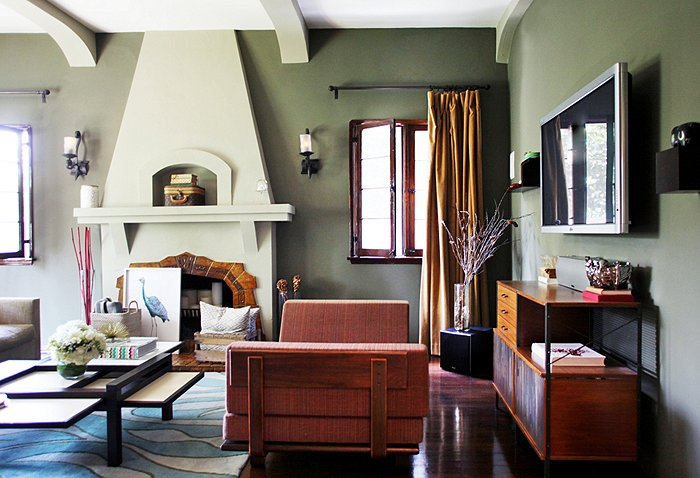 We Re Currently Loving Sage Green Rooms One Kings Lane