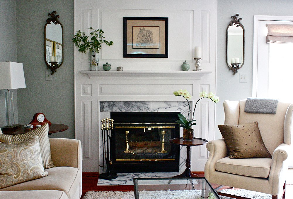 Decorating IdeasPaintTrends  Photo by Leah Moss  Interior by Amy StrunkWe re Currently Loving  Sage Green Rooms   One Kings Lane. Sage Green Living Room Ideas. Home Design Ideas