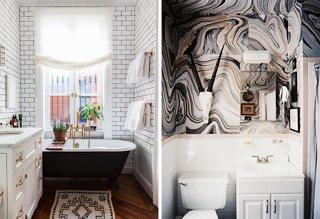 Bathroom Kings 6 gorgeous small bathroom ideas -- one kings lane