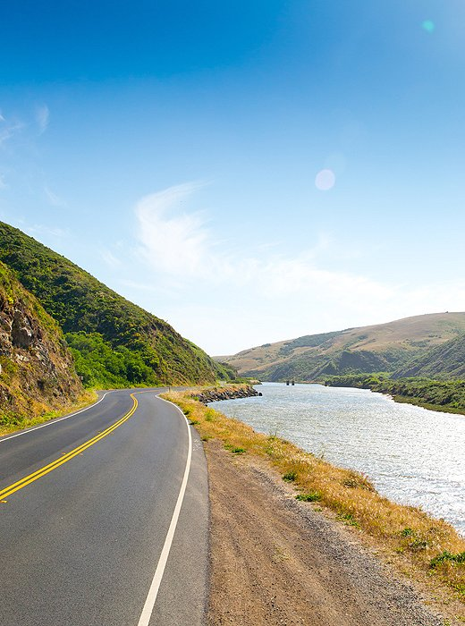 From Bodega Bay down to Point Reyes, Highway 1 is dotted with pull-over points to give you ample chance to soak up the scenery.