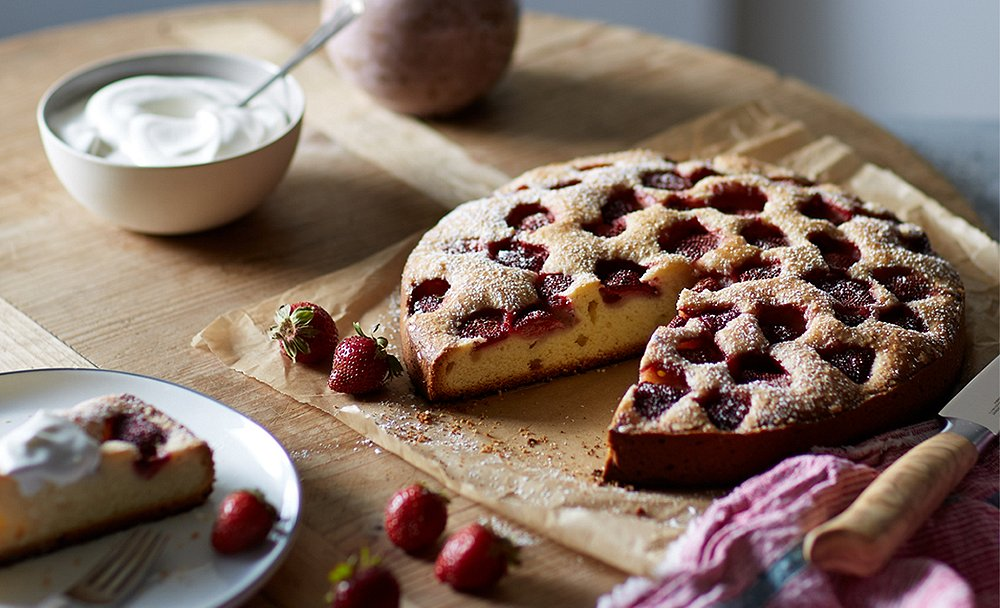 This Summer Berry Tart Is Mouthwatering Perfection