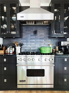 u201ci didnu0027t want just a typical white says thom filicia of his vision for the kitchen of his lake house in the finger lakes region of new york