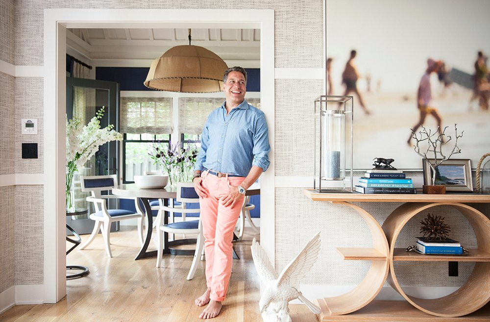 Tom Filicia tour the chic modern lake house of designer thom filicia