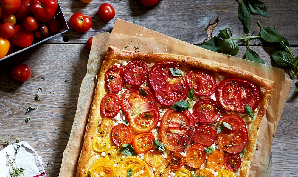 Fall in Love with This Heirloom Tomato, Feta & Thyme Pastry