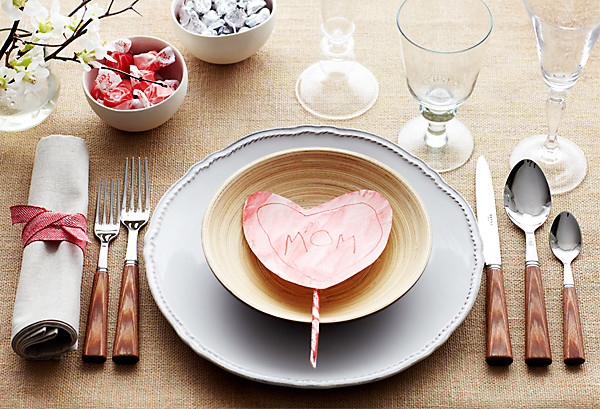 Valentine 39 s day table setting ideas - Dining table setting ideas ...