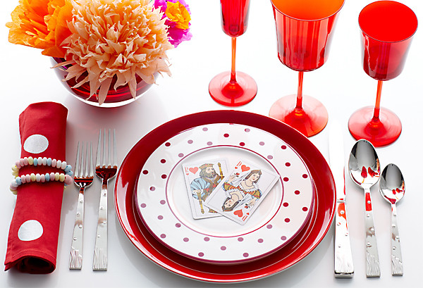 Valentine\'s Day Table-Setting Ideas