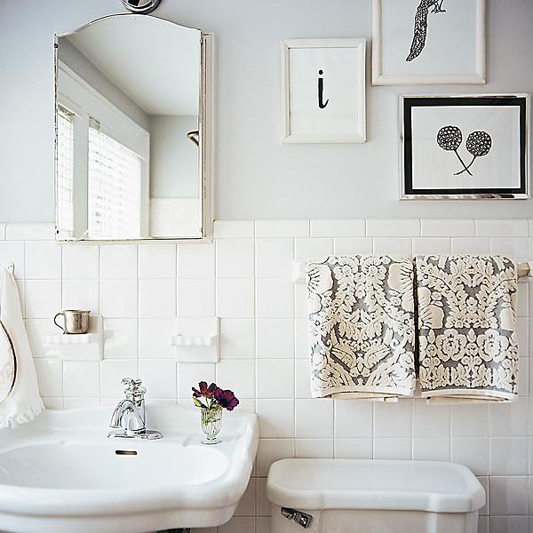 حمامات باللون الابيض 2014 حمامات