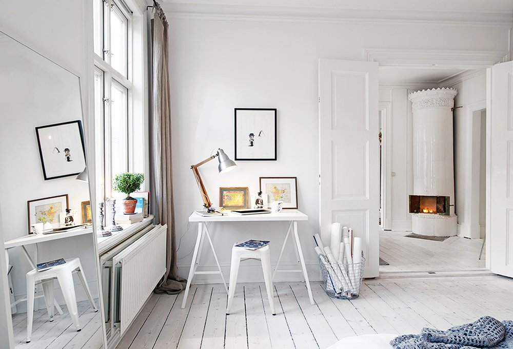 All White Room whiteout! (almost) all-white rooms -- one kings lane