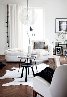 White room black furniture Mixing Brown And White Photo By Daniella Witte Whiteout almost Allwhite Rooms One Kings Lane