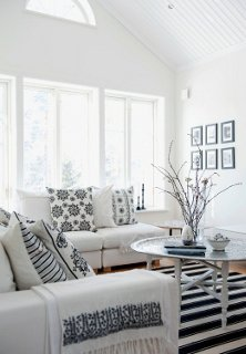 Photo by living4media/ Magdalena Björnsdotter & Whiteout! (Almost) All-White Rooms -- One Kings Lane