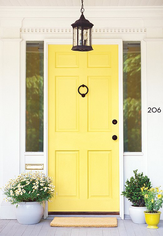 The 8 best paint colors of the year one kings lane Front door paint benjamin moore