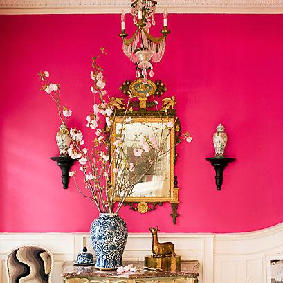 Remarkable Pink Mint Green Living Room