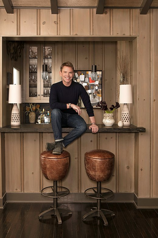 Designer Jeff Andrews. Photo by Stephen Busken.