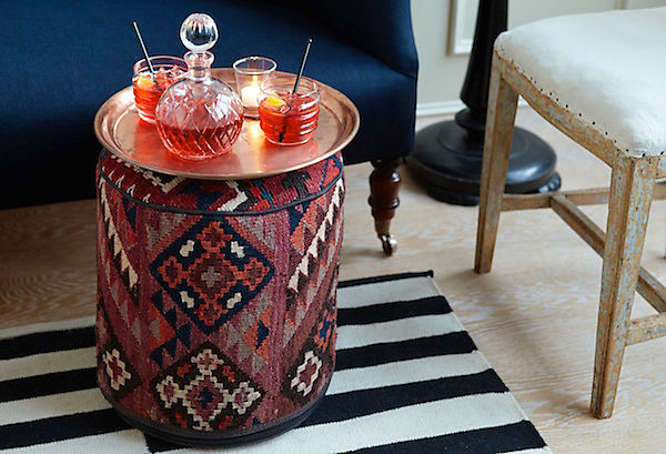 the pink doormat: pouf-a-palooza with one kings lane