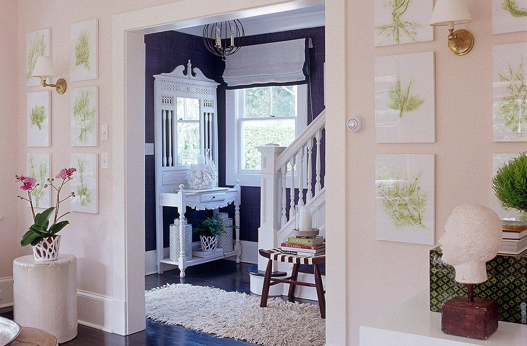 Pink Foyer Room Escape : Designer entryway ideas to steal