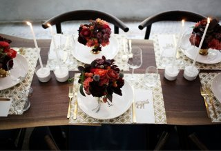Ideas For Dinner Party At Home Part - 33: Itu0027s No Secret That Here At One Kings Lane We Love Nothing More Than  Hosting A Dinner Party At Home. But What If Your Studio Apartment Means A  Seated Soiree ...