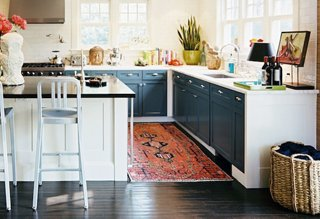 Photo by Patrick Cline / Lonny magazine  sc 1 st  One Kings Lane : kitchen runner rugs - hauntedcathouse.org