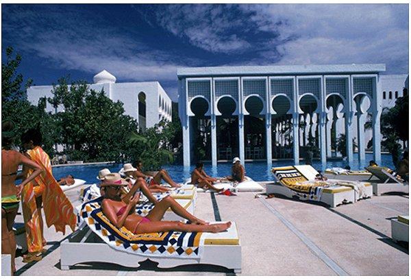 Slim Aarons Armando S Beach Club 1975