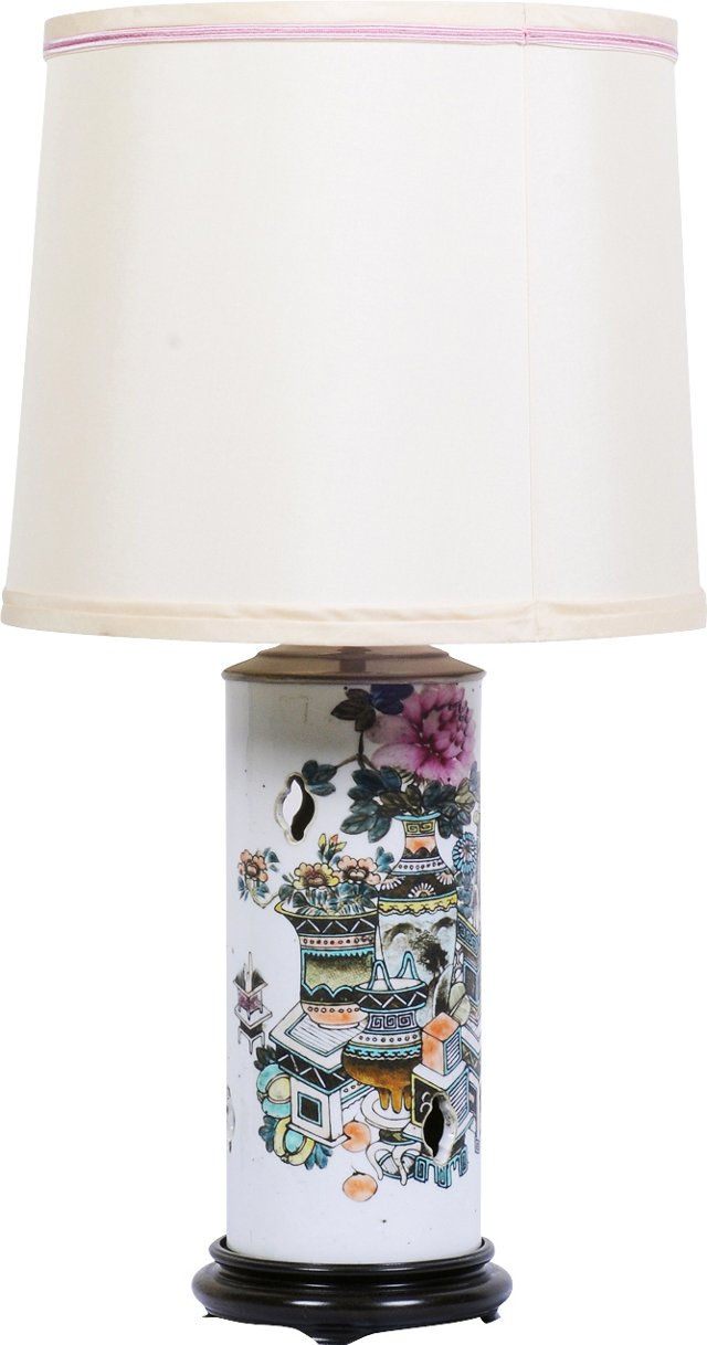 Chinese Hat Stand Lamp
