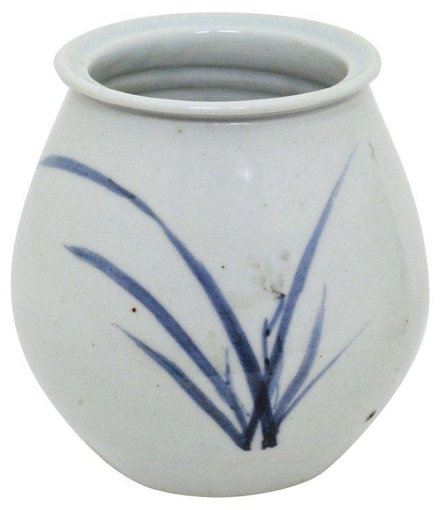 Antique Blue & White Vase