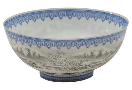 Antique Republic-Era Chinese Bowl
