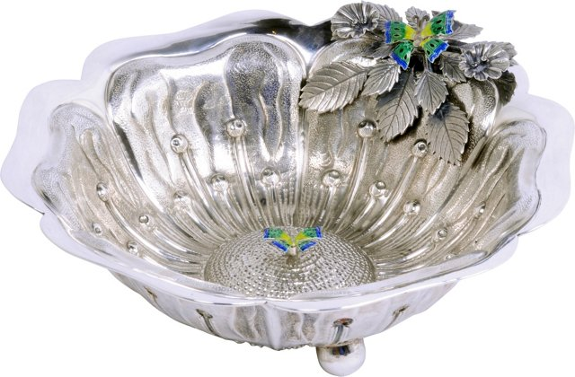 Italian Sterling Silver Bowl
