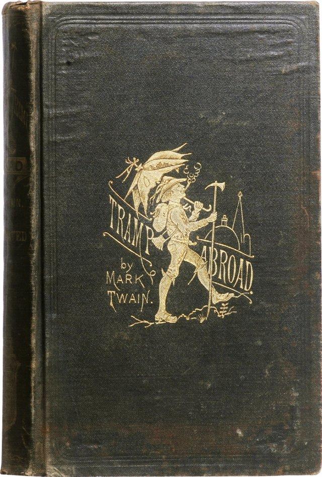 A Tramp Abroad, 1st UK Ed