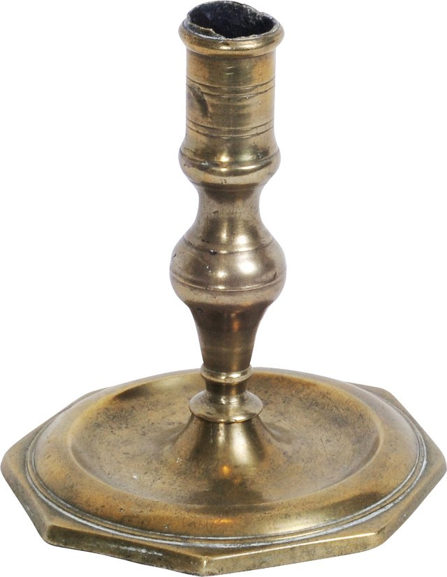 Brass Candlestick, 18th century