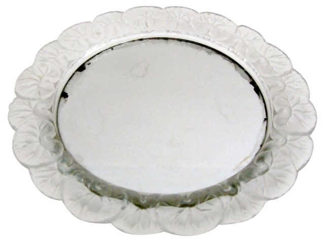 Frosted Glass & Mirrored Tray