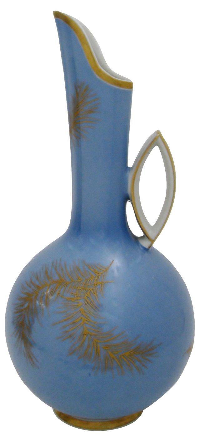 Baby Blue Porcelain Ewer
