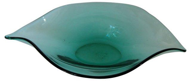 Blenko Asymmetrical Bowl