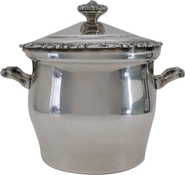 Silverplate  Ice Bucket