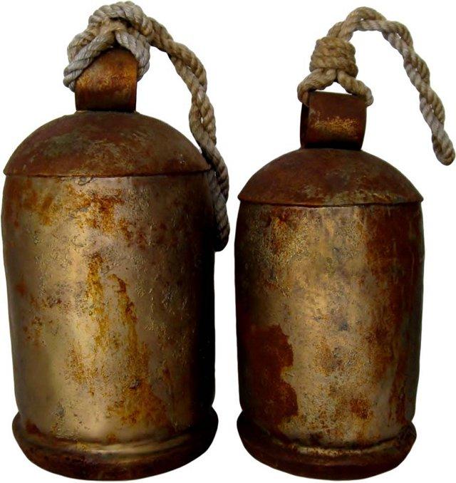 Tibetan Bells, Pair