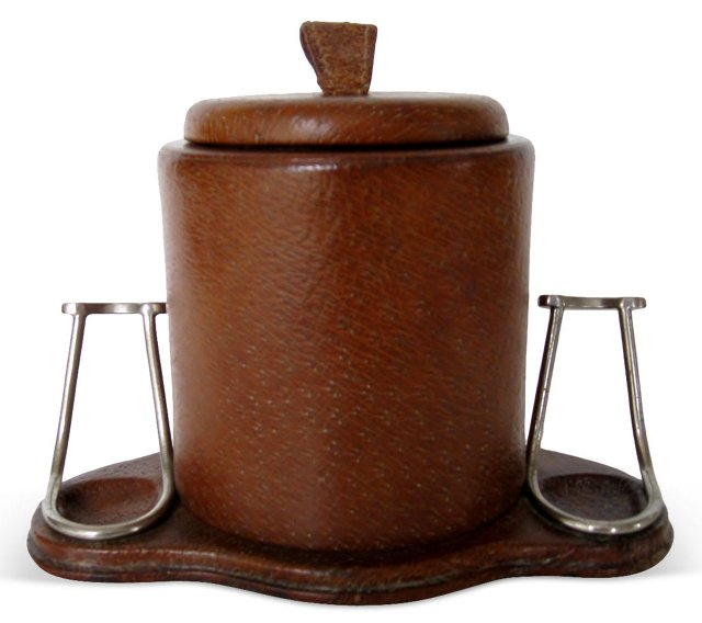Pipe Holder & Tobacco Container