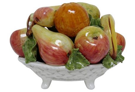 Capodimonte Fruit Bowl