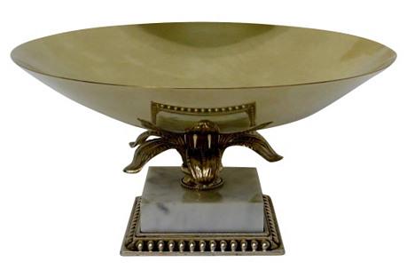 Regency Brass Console Bowl