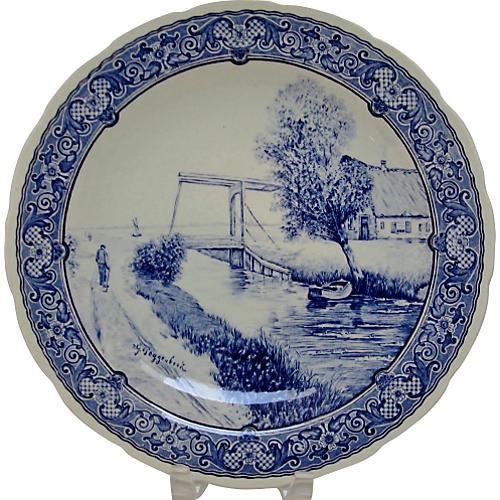 Delfts Wall Plate