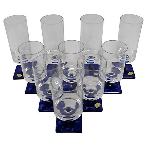 Rosenthal Glasses, S/10