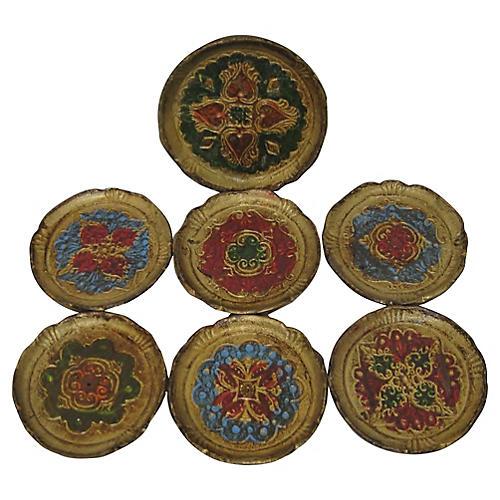 Florentine Coasters, S/7