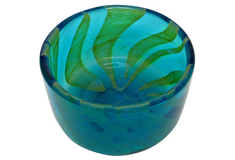 Mdina Decorative Glass Bowl