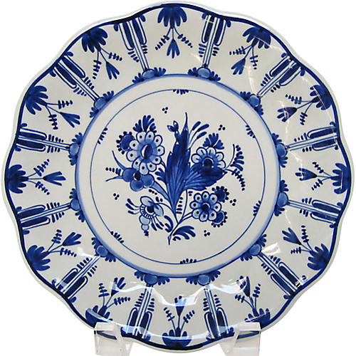 Small Delft Wall Plate