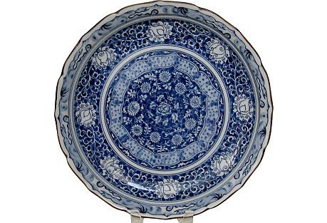 Japanese Porcelain Centerpiece Bowl